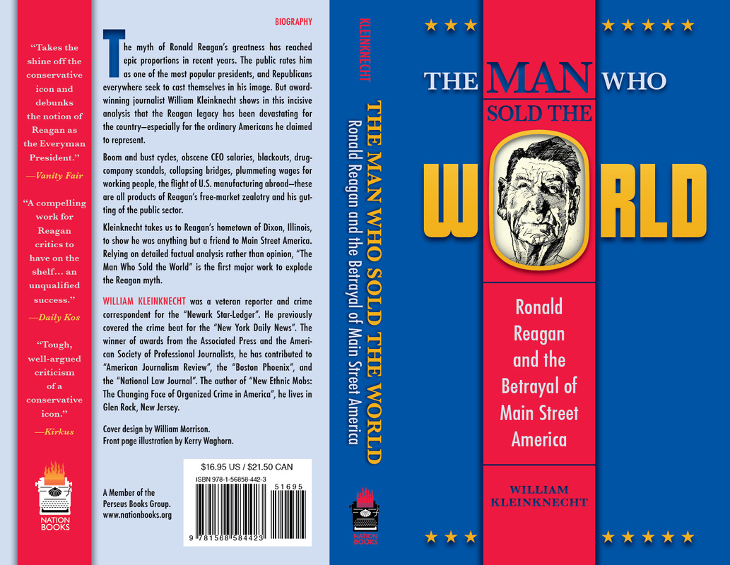 book cover design studio the man who the world ronald reagan and the betrayal of main street america back spine front cover